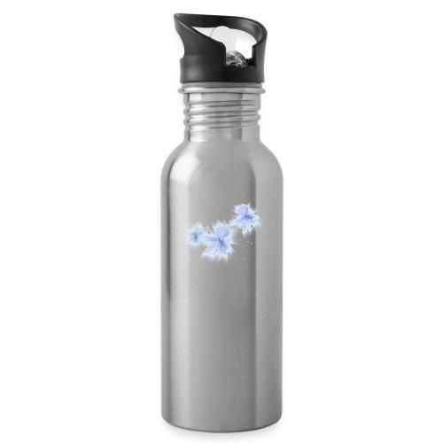 blue flowers - Bidon