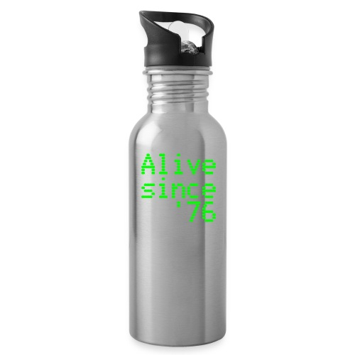Alive since '76. 40th birthday shirt - Water Bottle