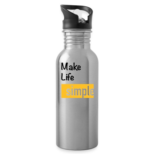 Make Life Simple - Gourde
