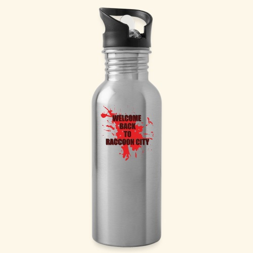 Welcome Back to Raccoon City TEXT 01 - Water Bottle