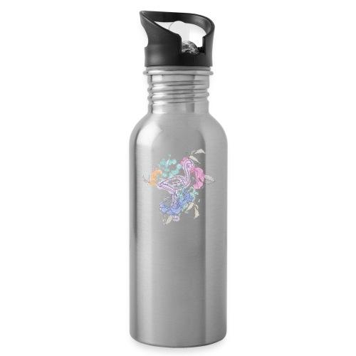 peacock - Water Bottle