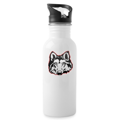 Wolfie (Red) - Water Bottle