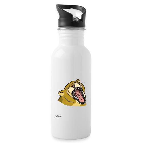 Gähnender / brüllender Löwe - Trinkflasche