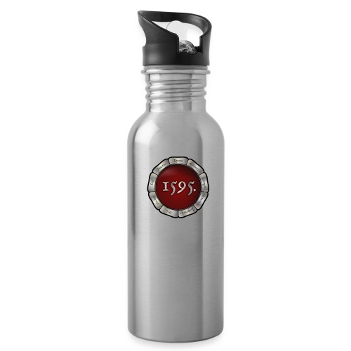 Rose badge - Water Bottle
