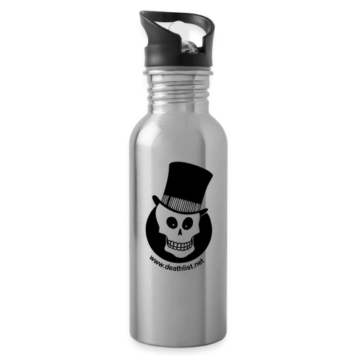 skully vector - Water Bottle