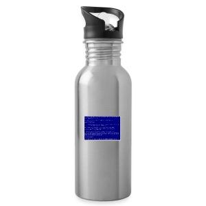 Blue SocialSocial screen - Drikkeflaske