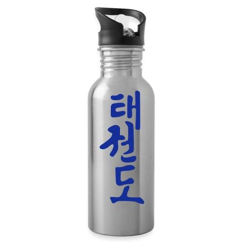 Teakwondo - Drinkfles met geïntegreerd rietje