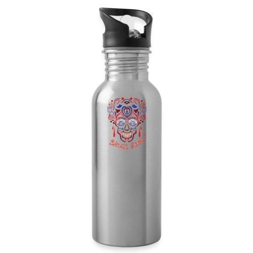 Skull Tattoo Art - Water Bottle