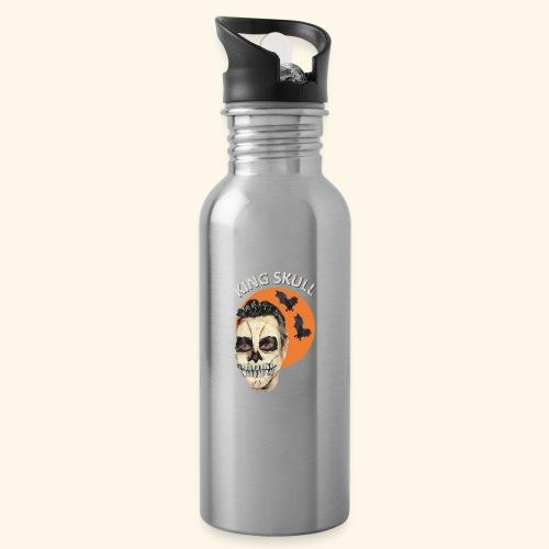Totenkopf Nahtoderfahrung Mystik - Trinkflasche