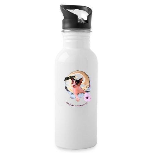 Ready for a cappuchino? - Water Bottle