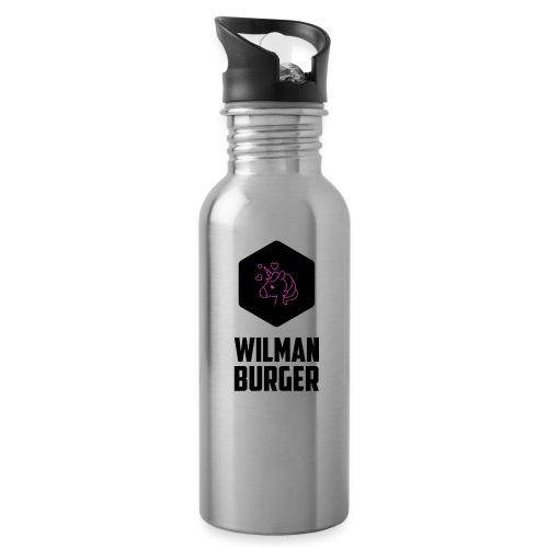 Wilman Burger - Juomapullo, jossa pilli