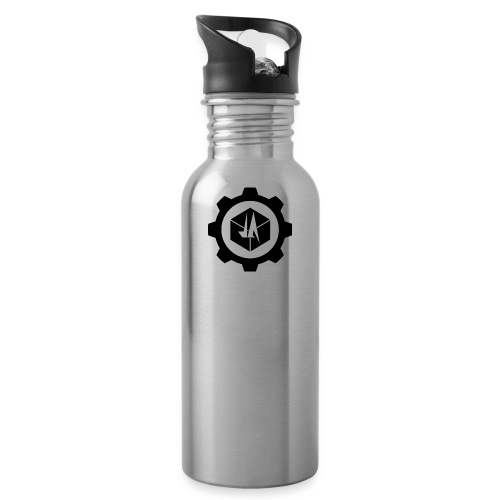 Jebus Adventures Logo (Transparent) - Water Bottle