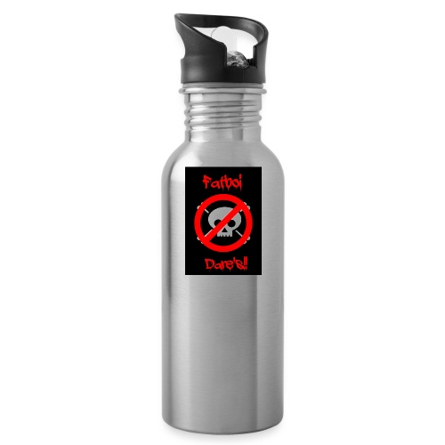 Fatboi Dares's logo - Water Bottle