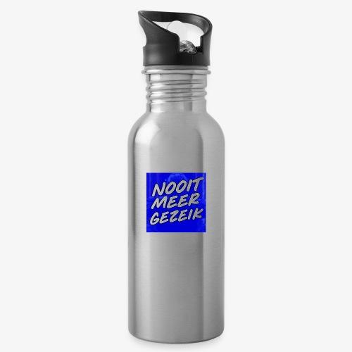 De 'Nooit Meer Gezeik' Merchandise - Drinkfles