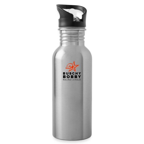 Buschy Bobby Racing League on white - Water Bottle
