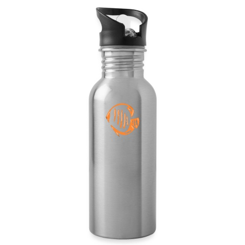 Aquarium Adventures Logo - Water Bottle