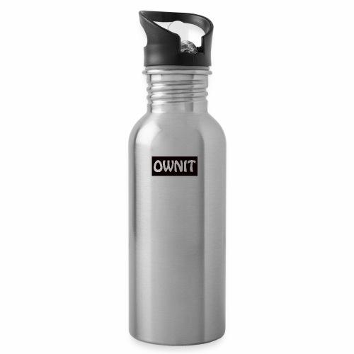 OWNIT logo - Water Bottle
