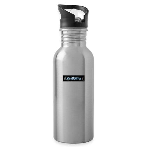 DerHardstyle.ch Kleines Logo - Trinkflasche
