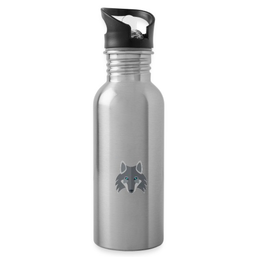 Logo wolf Channel - Water Bottle