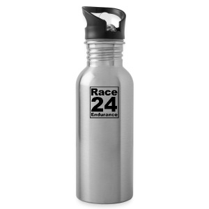 Race24 logo in black - Water Bottle