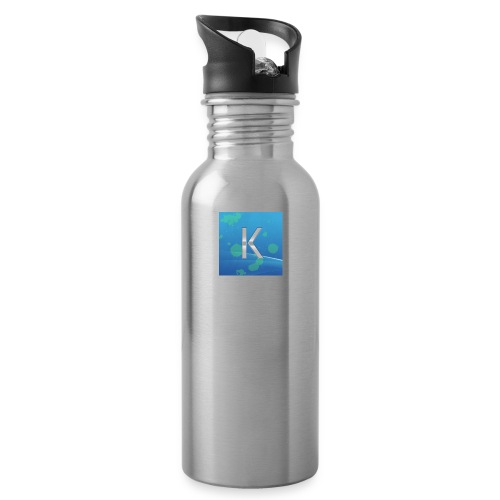 K logo - Water Bottle