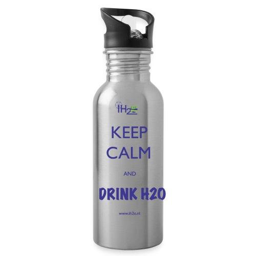 waterbottlenew png - Drinkfles met geïntegreerd rietje