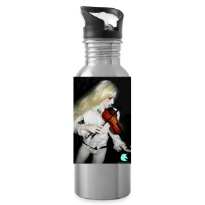 Vampire Violin Gothic Music Fantasy Enchanted - Water Bottle