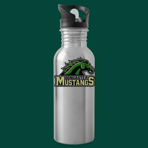 mustangs logo 2019v4 - Water Bottle