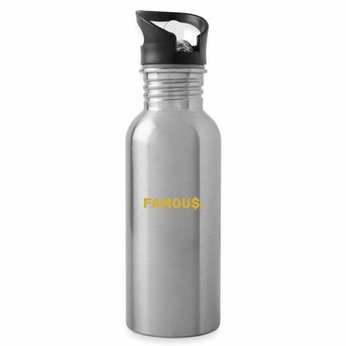 Millionaire. X Famou $. - Water Bottle