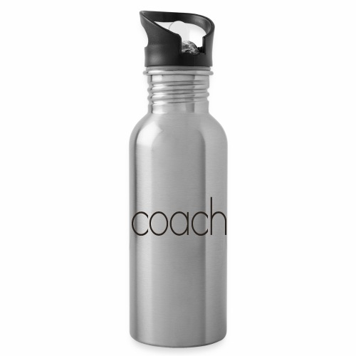 coach text - Trinkflasche