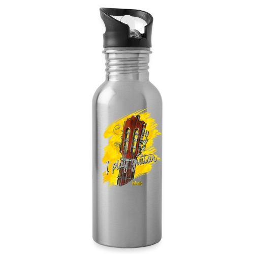 I play guitar - limited edition '19 - Trinkflasche