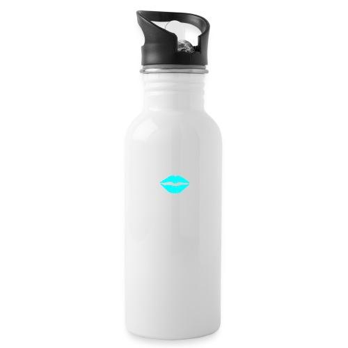Blue kiss - Water Bottle