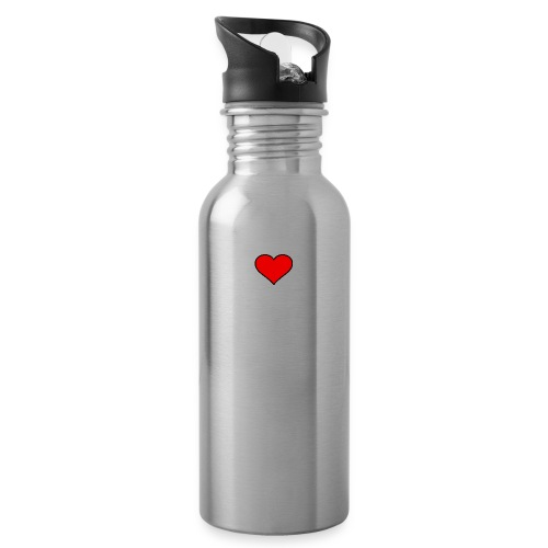 big heart clipart 3 - Vattenflaska