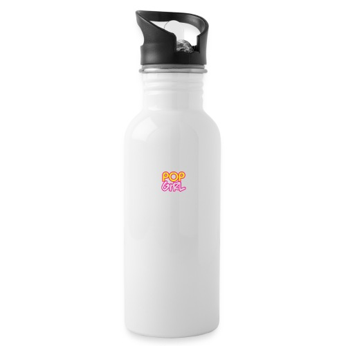 Pop Girl logo - Water Bottle
