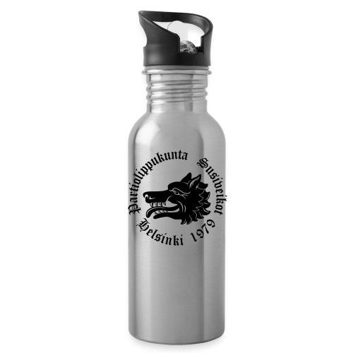 Susiveikot-logo tekstillä - Juomapullot