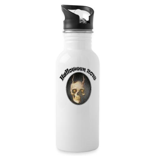 Halloween 2018 Horned Devil Skull - Water Bottle