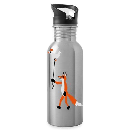 Fuchs und Henne - Trinkflasche