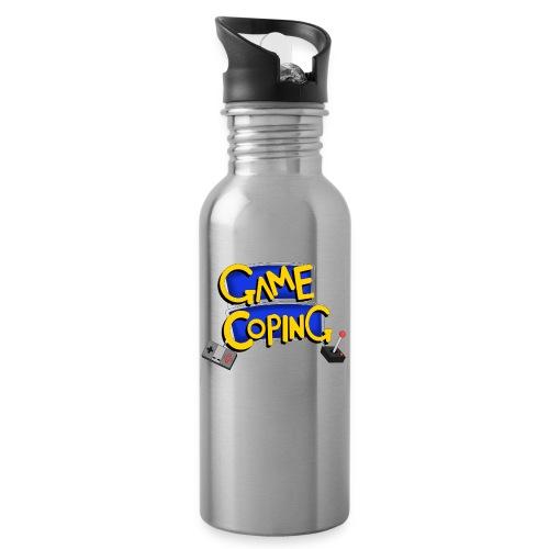 Game Coping Logo - Water Bottle