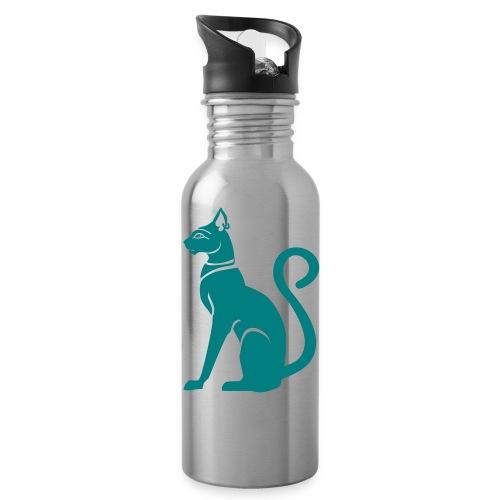 Bastet - Katzengöttin im alten Ägypten - Trinkflasche