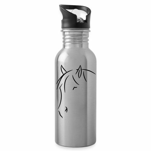Logo Kopf - Trinkflasche