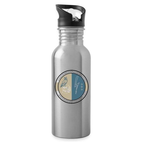 Geosmine Old School - Water bottle with straw