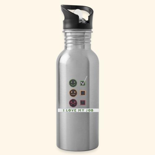 Job Berufung Leben - Trinkflasche