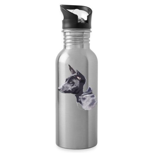 basenji black - Drikkeflaske