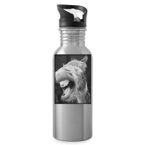 lachender Esel - Trinkflasche