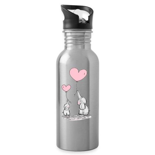 cute elephants - Water Bottle