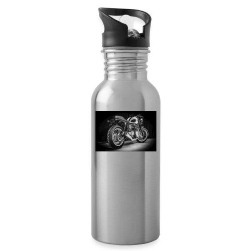 Monia's Thruxton 'Performance Scrambler' - Water bottle with straw