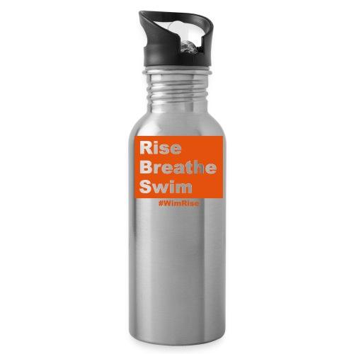 Rise Breathe Swim - Water Bottle