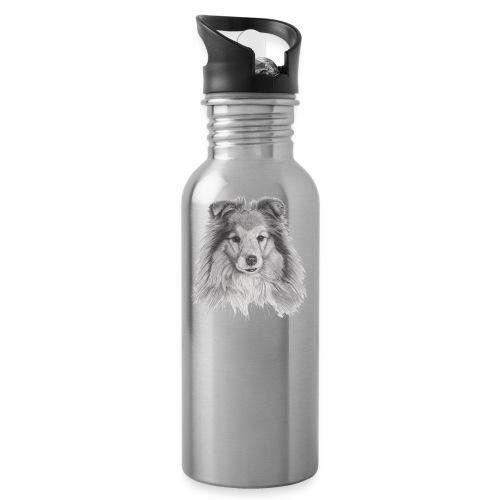 shetland sheepdog sheltie - Drikkeflaske