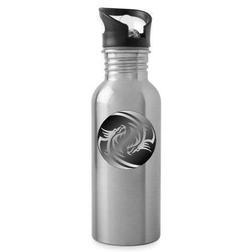 Yin Yang Dragon - Water Bottle
