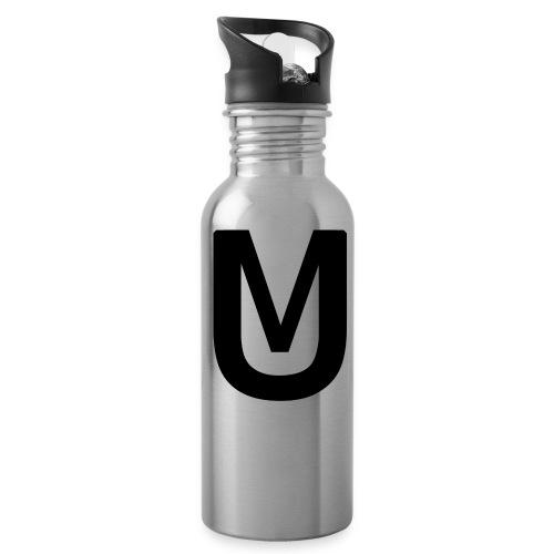 Black Ultimatti Productions Merch Design 2018 - Trinkflasche